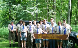 Michigan GPAA Chapter introduce gold panning to Boy Scouts