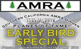 Please Join the American Mining Rights Association at their Annual Dinner - Socal - June 2nd