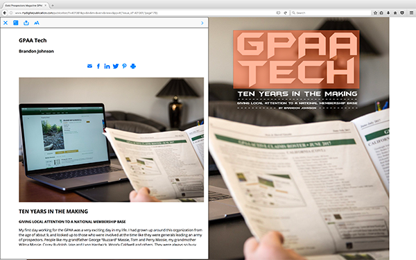 GPAA Publications – An Interactive Online Experience